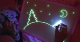 «Рисуй светом» набор для рисования в темноте 300х430 мм