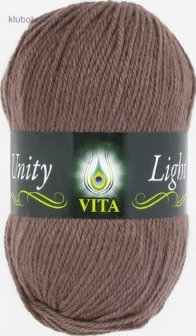 Пряжа Unity Light 6200 Светлое какао Vita купить в интернет-магазине Клубок Shop