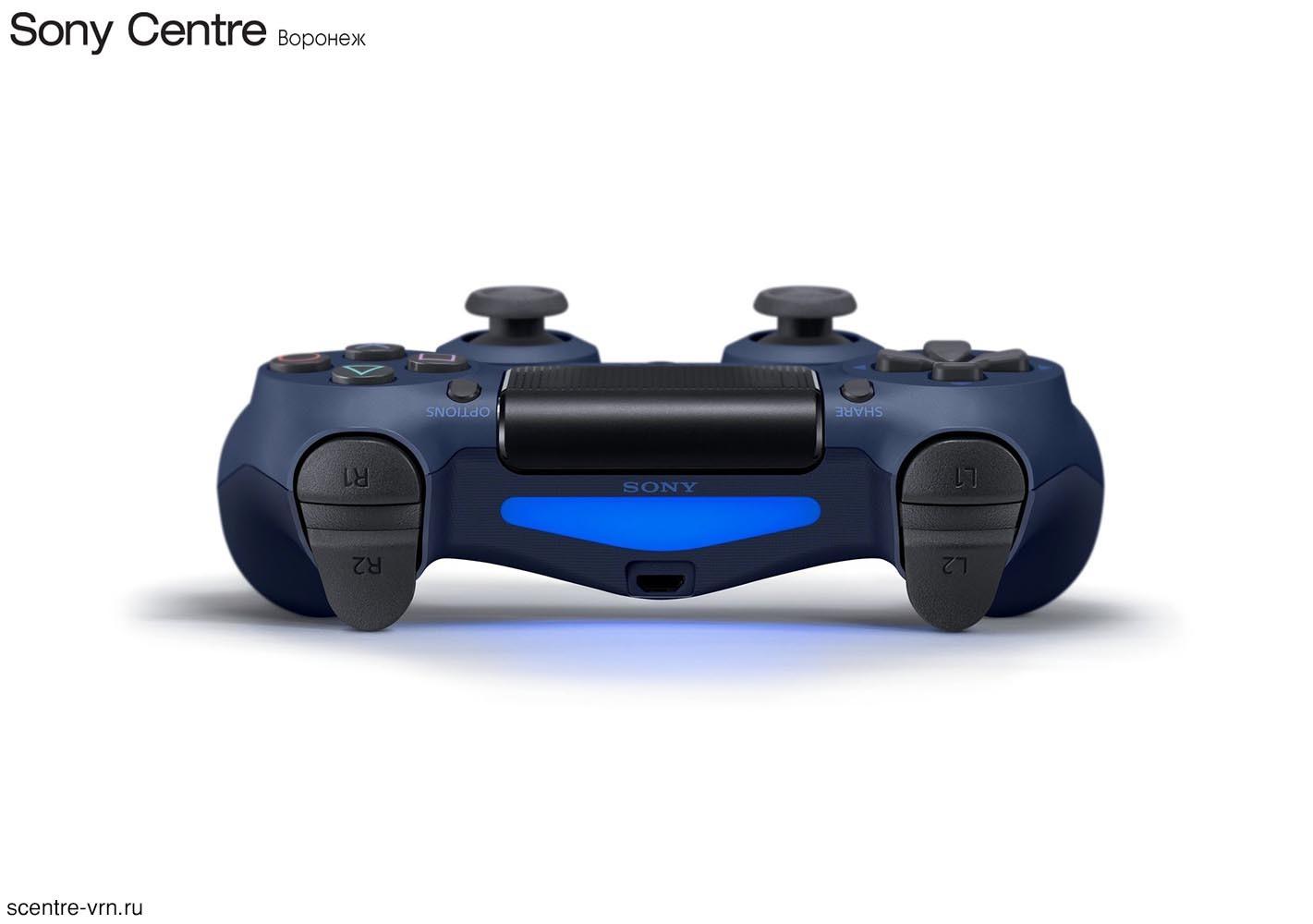Dualshock 4 тёмно-синий купить в интернет-магазине Sony Centre Воронеж