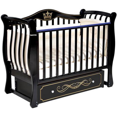 Кровать детская Виолетта G-2 (универсальный маятник, закрытый ящик)