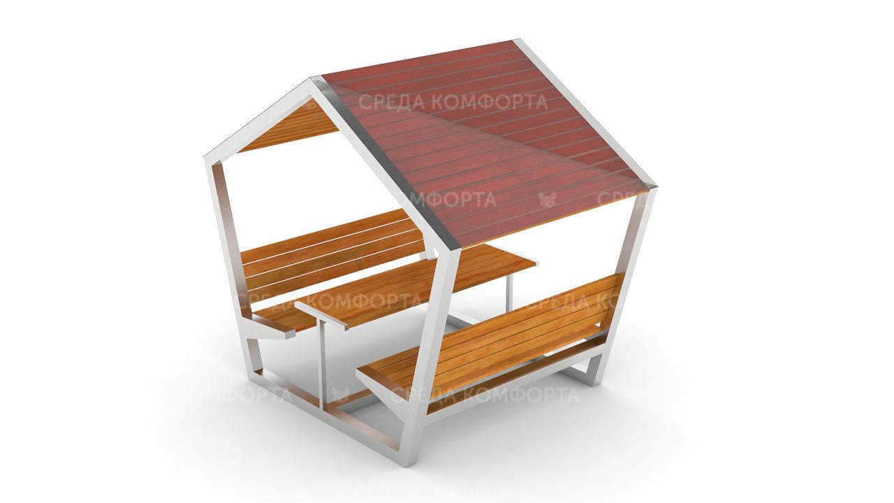 Скамейка с навесом SCAM0112