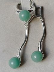 Витима (кольцо + серьги из серебра)
