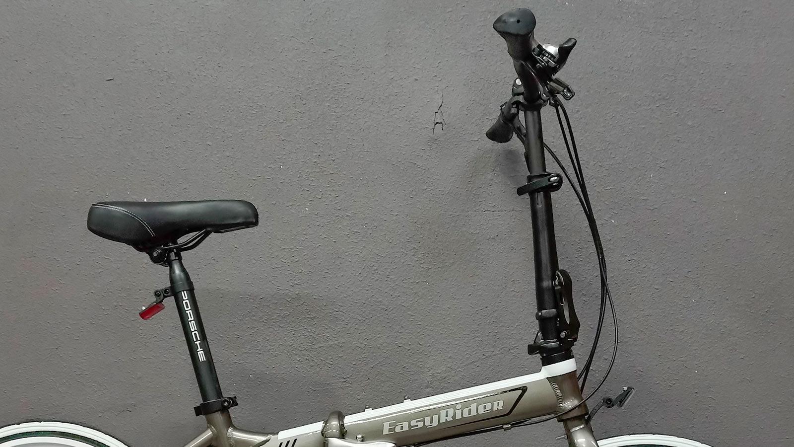 седло руль складной велосипед 20 дюймов