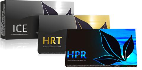 APL. Набор Аккумулированные драже APLGO ICE+HPR+HRT для здоровья желудка, очищения печени и оздоровления сердца