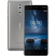 Nokia 8 64GB Dual (4GB RAM) TA-1004 Silver (Стальной)