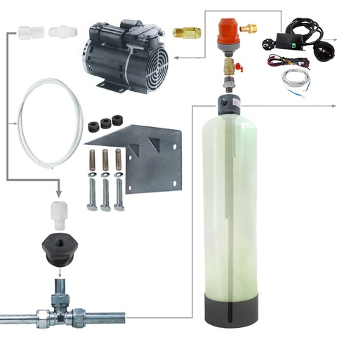 Система напорной аэрации воды 3072 / AP200 / CL