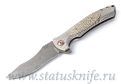 Нож Les George Harpy Full Custom Damascus