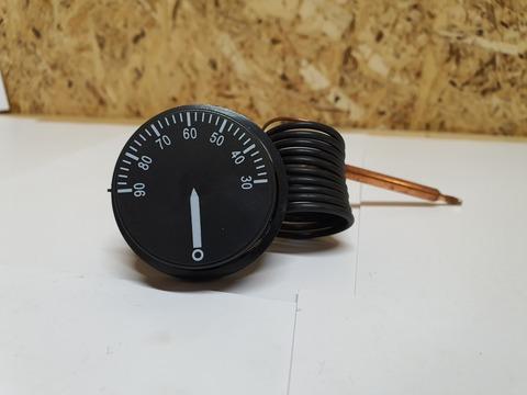Термостат капиллярный регулируемый для электрических котлов (30 - 90°C) (медный капилляр)