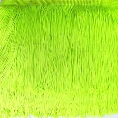 Купить бахрому оптом для украшения купальника Ultra Green ярко-зеленый