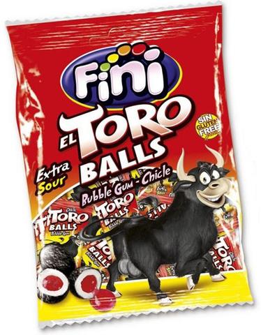 Жевательная резинка Fini El Toro balls 80 гр