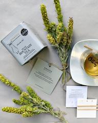 Природный горный чай от Anassa Organics, 20 г, tin box, Греция