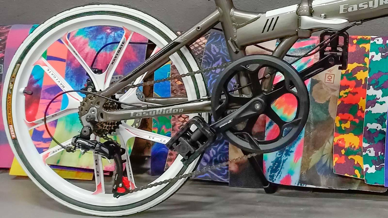 заднее колесо педаль складной велосипед 20