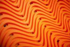 Мотокуртка - ICON OVERLORD (текстиль, оранжевая)