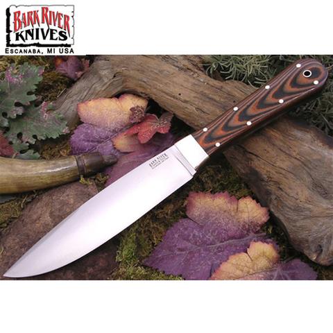 Нож Bark River модель Rogue Tigerstripe G10