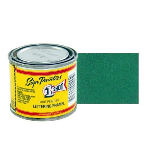 Эмали для пинстрайпинга 950-P Эмаль для пинстрайпинга 1 Shot Перламутровый сине-зелёный (Blue Green), 236 мл BlueGreenPerl.jpg