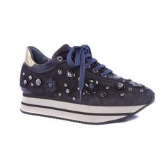 Замшевые кроссовки Pertini 13100