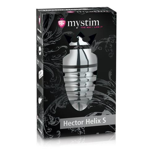 Металлическая анальная пробка Hector Helix Buttplug S (Mystim)