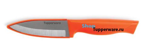 Нож Гурман  универсальный в оранжевом цвете