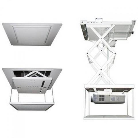 Моторизованный потолочный лифт для проектора с пультом ДУ 1.5м 150см
