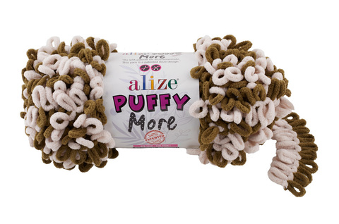 Пряжа Alize Puffy More цвет 6264