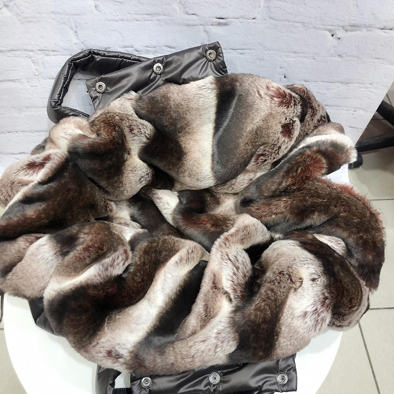меховая сумка для маленькой собаки
