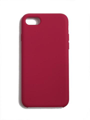 Чехол для iPhone 7/8/SE Софт тач мягкий эффект | микрофибра светло-лиловый
