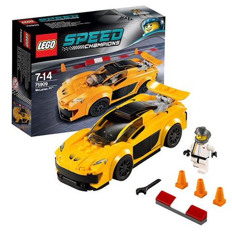 LEGO Speed Champions: McLaren P1 75909 — Лего Спид чампионс Чемпионы скорости