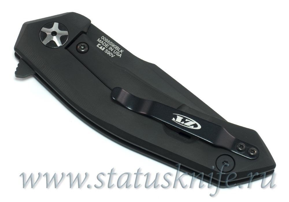 Нож Zero Tolerance 0095 DLC S90V black - фотография