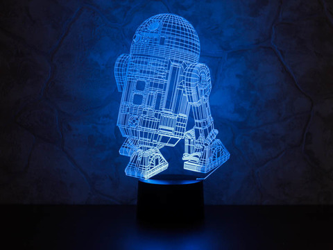 3D ночник R2-D2