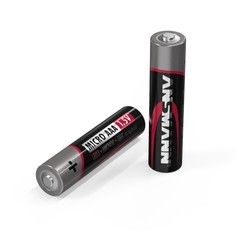 Батарейка щелочная AAA ANSMANN Red 1.5V - 1 шт