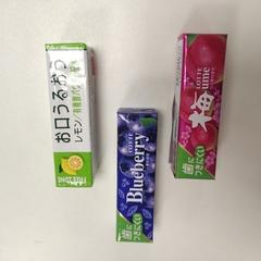 Жевательная резинка Lotte Ume со вкусом японской сливы 25,2 гр