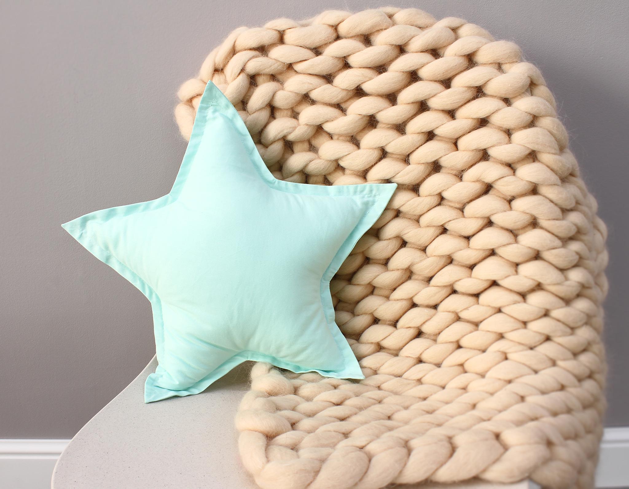 Подушка звезда 3