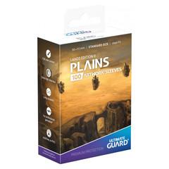 Протекторы Ultimate Guard Lands Edition II «Равнина» (100 штук)