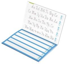 Прописи для правшей и левшей. Пишем прописные буквы девой рукой.