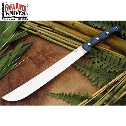 Нож Bark River Golok модель Upswept Blue&Black G-10