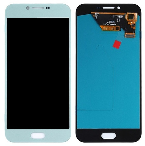 LCD SAMSUNG A8 2016 A810H + Touch White Orig