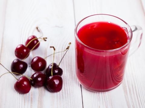 Кисель вишневый с ягодами
