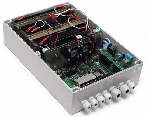 Коммутатор TFortis PSW-1G4F-UPS