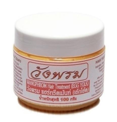 Маска для волос Wangphrom с яичным желтком и оливковым маслом