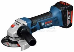 Аккумуляторные угловые шлифмашины Bosch GWS 18-125 V-LI (060193A307)