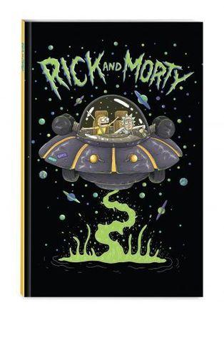Блокнот Рик и Морти. Это не харизматично!