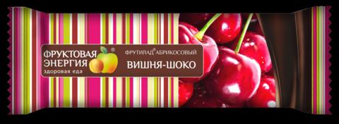 """Фруктовый батончик Фрутилад """"Вишня-шоко""""40г"""