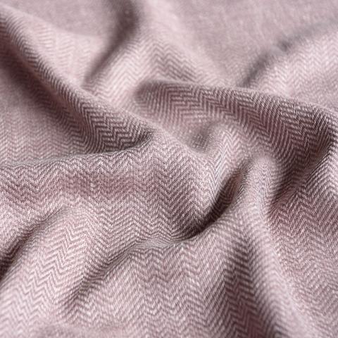 Ткань под лен Белла розовый