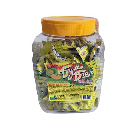 Жевательная резинка Бумболл желтый 1кор*8бл*90шт, 1,5 гр