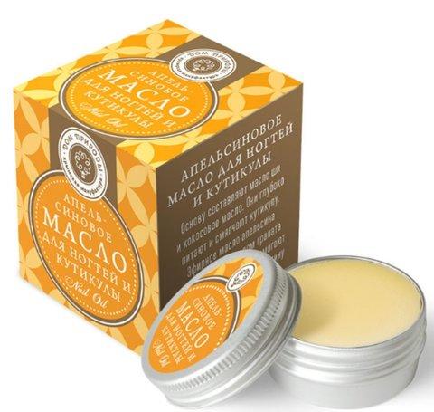 Масло «Апельсиновое» для ногтей и кутикулы™Мануфактура Дом Природы