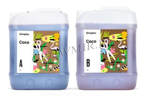 Удобрение Simplex Coco A+B 5 л