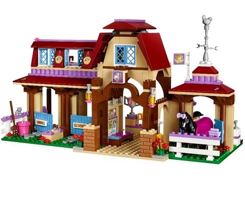 LEGO Friends: Клуб верховой езды 41126 — Heartlake Riding Club — Лего Френдз Подружки