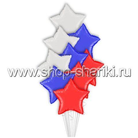 shop-shariki.ru фонтан из шаров Звёзды
