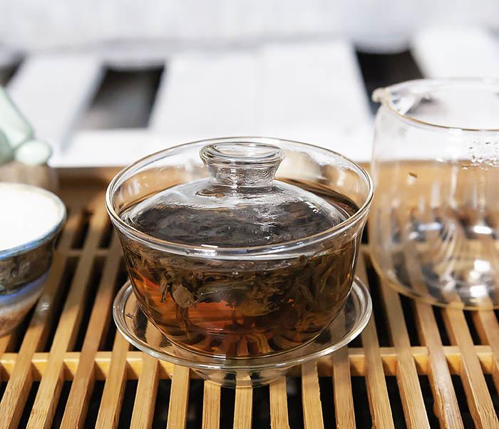TEA-CH108 Китайский чай «Малый Вид с Горы Чжен» (Чжэнь Шань Сяо Чжун, сорт «B», 50 гр) фото 10