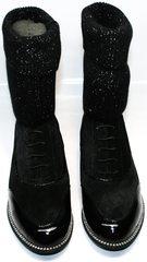 Полусапожки женские Kluchini 5161 k255 Black